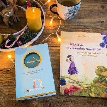 Mit Yoga die Kinder glücklich ins Bett bringen – 2 Bücher für Mama und Kind