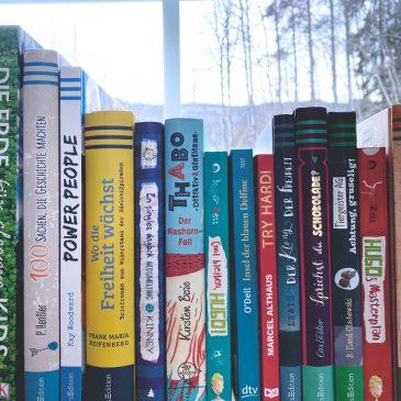9 spannende Bücher für Jugendliche von 9 bis 15 – Buchtipps für Teenager