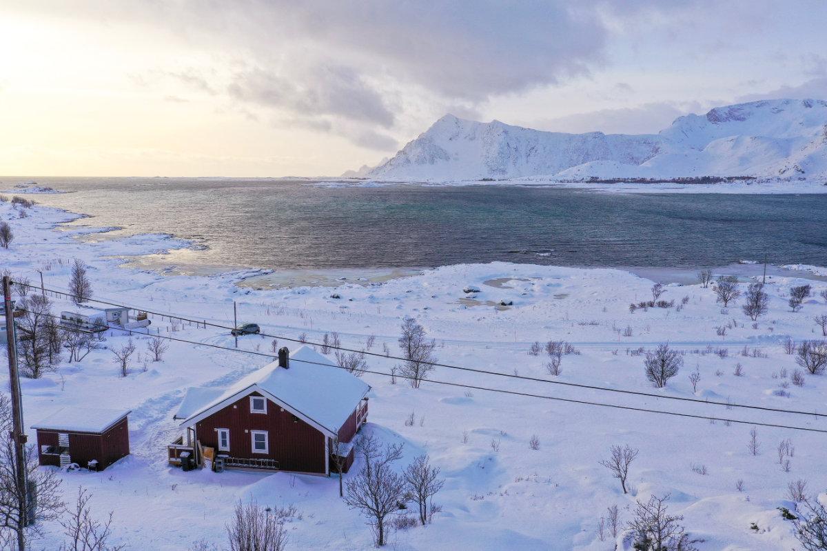 Lofoten Ferienhaus Novasol Norwegen