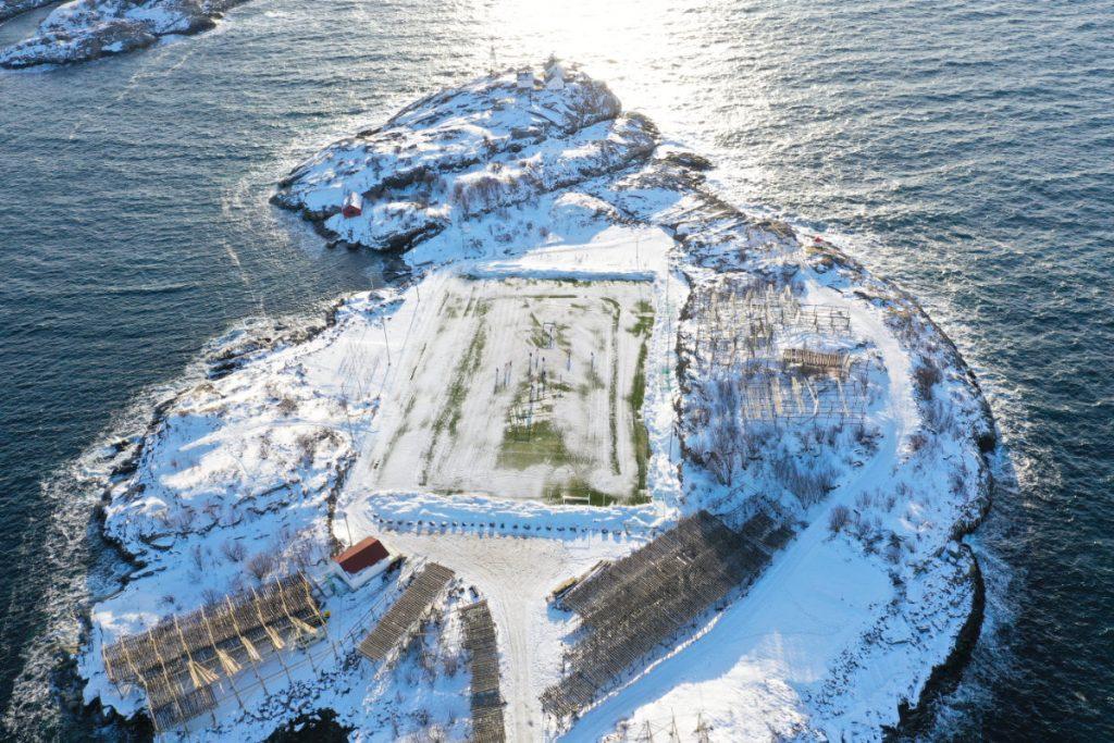 Urlaub auf den Lofoten im Winter, Lofoten in Norwegen mit Kindern, Henningsvaer