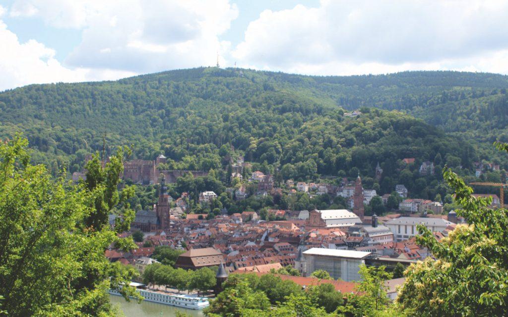 Die wunderschöne Altstadt in Heidelberg