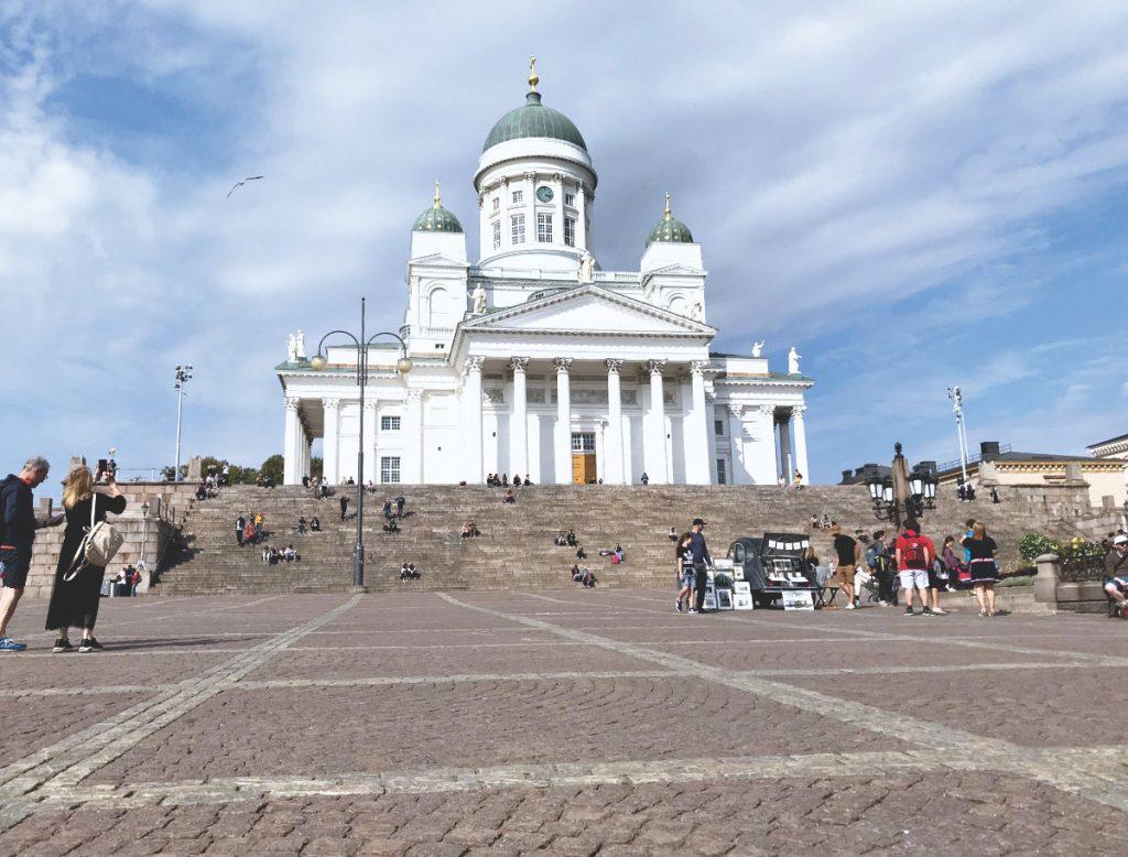 Urlaub in Finnland mit Kindern - Finnland Reiseziele im Sommer, Helsinki Dom