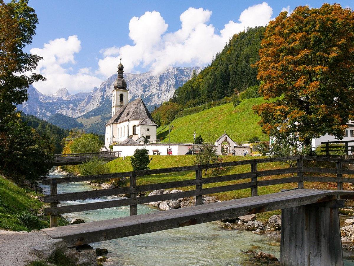 Urlaub in Deutschland mit Kindern. Tolle Orte von den Alpen bis zum Meer