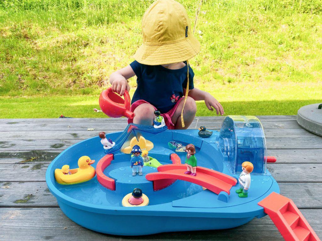 Die lustige Wasserbahn von Playmobil 1.2.3 Erfahrung