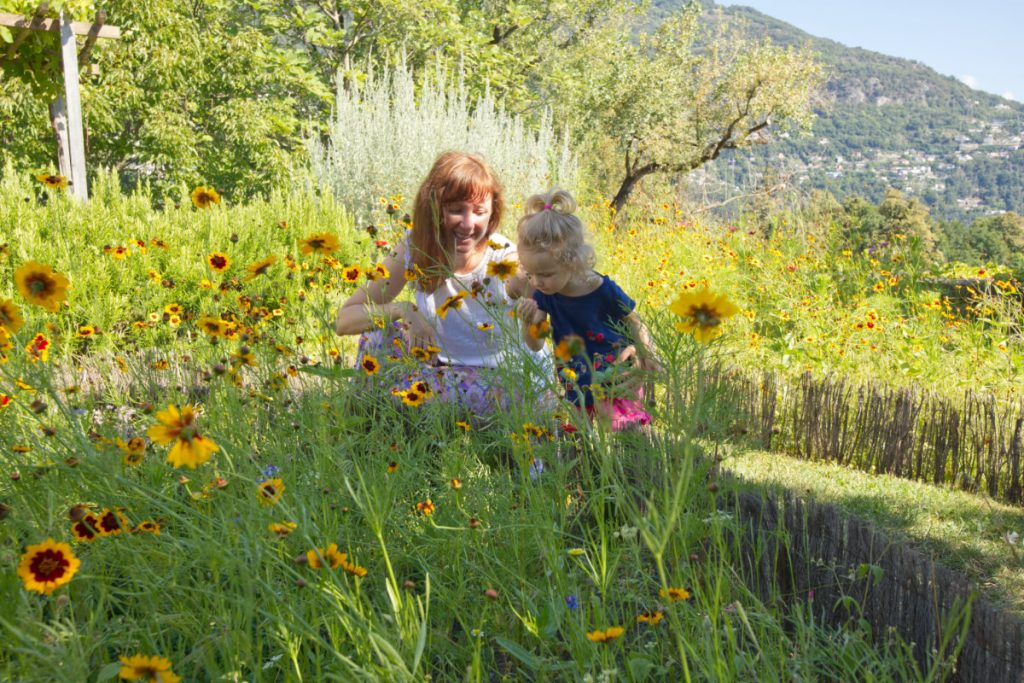 botanischer Garten in Tessin mit Kindern