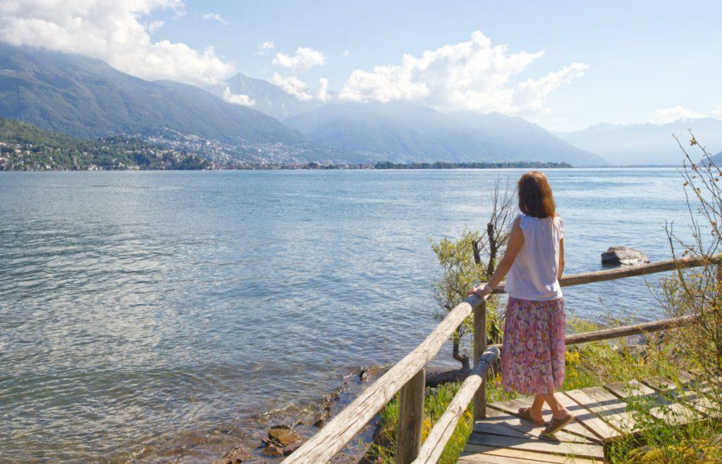 Schweiz Urlaub botanische Insel in Tessin