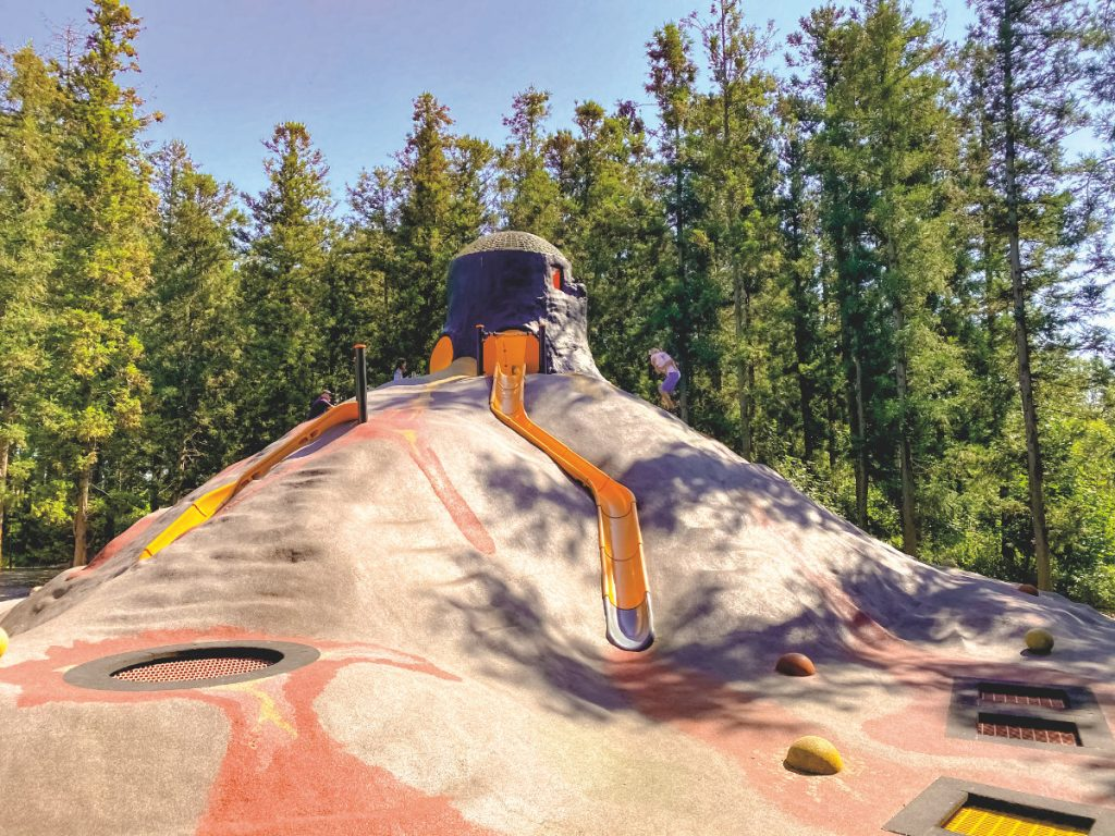 Knuthenborg Safari Park Spielplatz. Lolland Falster